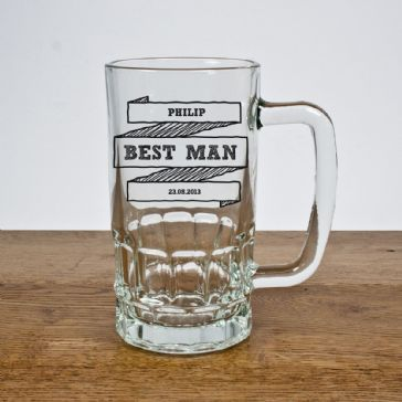 Comic Best Man Tankard